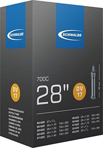 Schwalbe No. 17 - Cámara de aire para bicicleta 700C DV17,