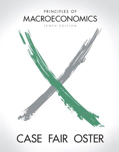 Principles of Macroeconomics (Pearson Series in Economics)