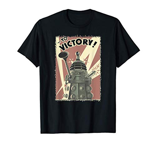 Doctor Who Propoganda Dalek T-Shirt