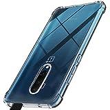 HUUH Funda para OnePlus 7T Pro 5G McLaren,TPU Ultrafino,Altamente Transparente,no deformable,Duradero,Engrosado en Cuatro Esquinas,Caja del teléfono Anti-caída