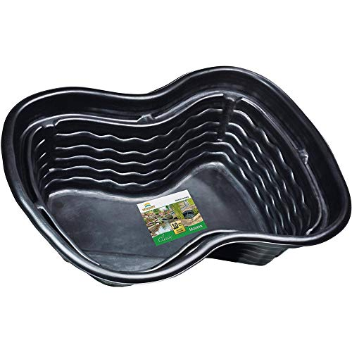 Heissner B1001-00 PE-Fertigbecken 1000 Liter  224 x 150 x 70 cm nierenförmiges Teichbecken für Ihren Gartenteich - 2