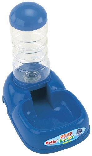 PETIO『PETIOディッシュ給水器付きブルー』