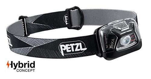 Petzl E093FA00 Lampe Frontale Tikka, Noir, Unique