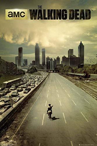 Tainsi Póster de The Walking Dead City (30 x 46 cm)