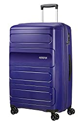 Expandable to 50 X 77 X 35 cm, 118 L Great organisation thanks to cross ribbons in top and bottom compartment Double wheels for smooth rolling comfort Fixed 3-digit recessed TSA Lock to keep all your belonging safe and secure Limited 3 year global wa...
