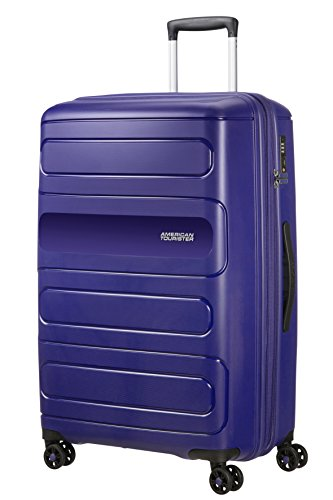 American Tourister Sunside Spinner 77 Expandible, 4.5 kg, 106/118 l, Navy Azul