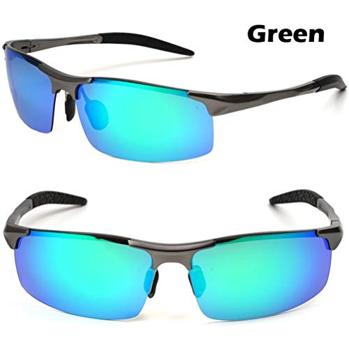Gafas de sol Hombres Gafas de visión aluminio-magnesio conductores de automóviles de la noche de los hombres calientes de la venta del polarizador antideslumbrante gafas de sol polarizadas de conducci