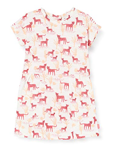Noppies Baby-Mädchen G Dress ss Claiborne AOP Kleid, Mehrfarbig (Rouge Red P160),...