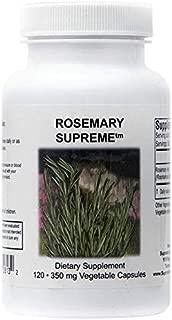 Supreme Nutrition Rosemary Supreme, 120 Pure Rosemary Vegetarian Capsules