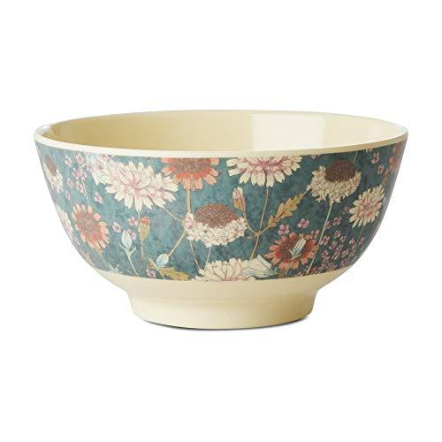 Rice Melamin Schale Schüssel mit Herbst Blumen Muster - 15 cm Durchmesser