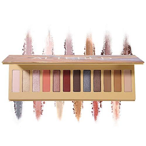 UCANBE La nouvelle palette de fards à paupières Nude 28 couleurs Matte Shimmer Glitter Multi-Reflective Shades Teint Ultra Pigmenté Maquillage Ombre à Paupières (A)