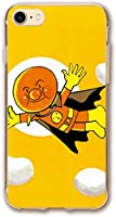 アンパンマン iPhone SE ケース 第2世代 / iPhone8 / iPhone7 対応 カバー 薄型 軽量 変色防止 TPU 指紋防止 柔軟性抜群 Qi急速充電対応 レンズ保護 衝撃吸収 傷防止