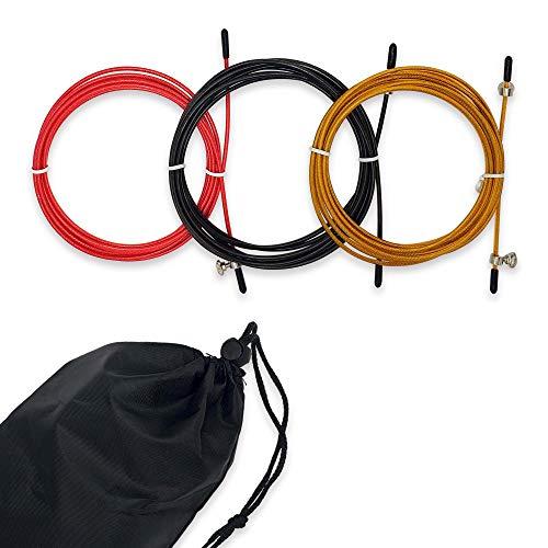 YAMAT - Set Cables de Cuerda para Saltar de Repuesto - Combas...