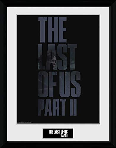 The Last Of Us 2 - Logo Unisex Gerahmtes Bild Standard Kunststoff 40 x 30 cm Fan-Merch, Gaming
