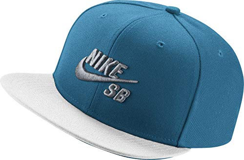 Nike U NK Cap Pro Cap, Herren, Herren, U Nk Cap Pro, Blau (InStaubrie-Blau/weiß/schwarz/Wolfgrau)