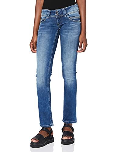 Pepe Jeans Damen Venus Jeans, 10oz Authentic Rope STR Med, 27W / 30L