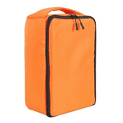 WUHUAROU Multifunktionskamera DSLR-Rucksack wasserdichte Außenkameratasche für Rucksackfotografie (Color : Orange, Size : Large)