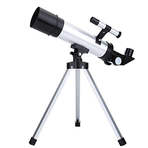 90X Monoculaire telescoop, astronomische brekingsrefractor met hoge resolutie