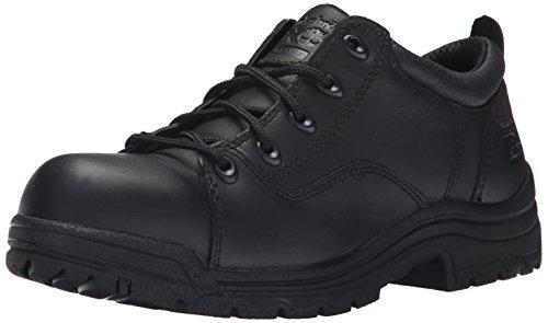 Timberland PRO Women's Titan Work Shoe,Black,7 W US