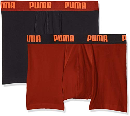 Puma Heren Basic Boxers Boxer Shorts diverse kleuren Pack van 4