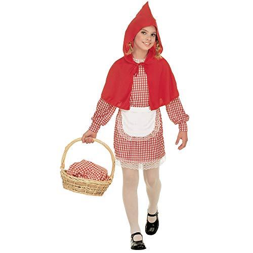 """Widmann - Costume Cappuccetto Rosso """"Red Capelet"""" - Bambina - Taglia 5/7 Anni"""