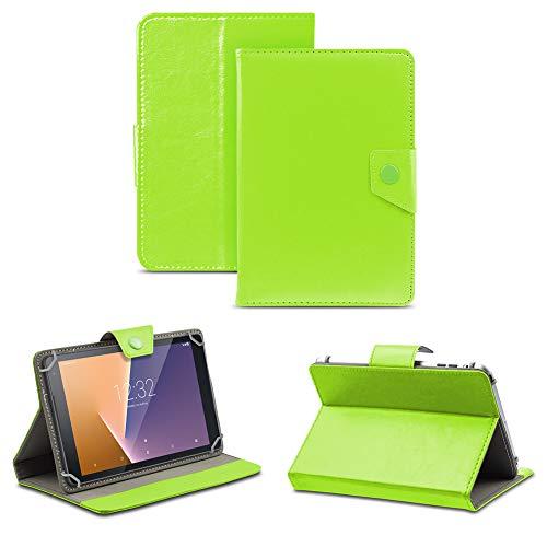 NAUC Tablet Tasche kompatibel für Vodafone Tab Prime 6/7 Schutzhülle Hülle Hülle Schutz Cover, Farben:Grün
