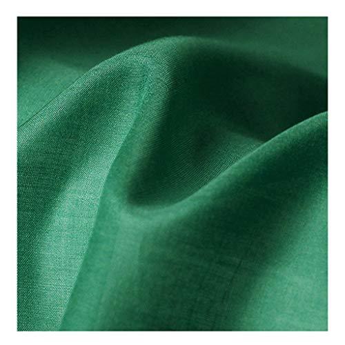 yankai Seidentaft Stoff Stoff Seide Reine Farbe Baumwolle Spinnseide Stoff Weiblicher Schal Schal Kleid Kleidungsschal 140cm Breit NIU