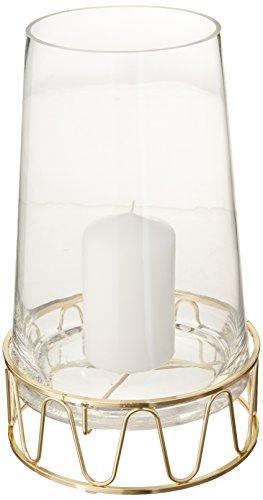 Sagaform Winter Windlicht, Glas, Transparent, 16 x 16 x 28 cm
