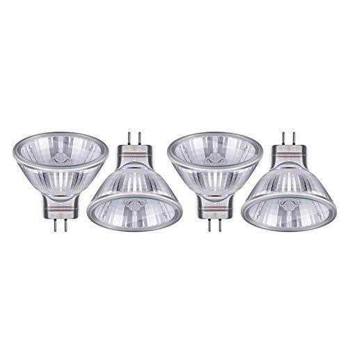 WESEEDOO Halogen Led GlüHbirne Stiftsockellampe Mr11 Halogenlampen Glühbirnen für Haus 35w,4pack