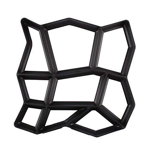 Pflastersteine Schimmel, Path Maker Backform, wiederverwendbare Beton Zement Stein Design Maschine Walk Maker Form, Muster für Pflastersteine Pflaster Garten Fußweg