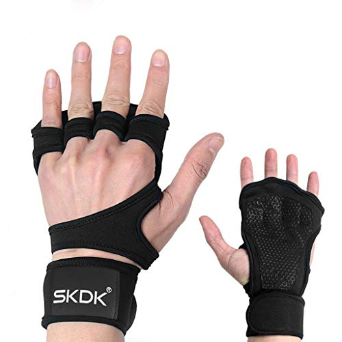 Best Prices! Egmy New Ventilated Children Sport Gloves with Built-in Wrist Wraps Great for Pull Ups ...