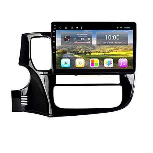 KCSAC 2 + 32GB Fits para Outlander 2013-2018 Android Coche GPS Navigation Full Touch Radio DVD 9'Android 9 Player Multimedia