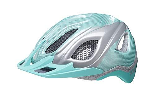 KED Certus K-Star L Mint k-Star - 55-63 cm - inkl. RennMaxe Sicherheitsband - Fahrradhelm Skaterhelm MTB BMX Erwachsene Jugendliche