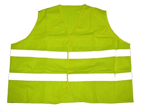 BigTiger Warnweste in Übergröße Gelb (8XL Brustumfang 184cm Länge ca 74cm)