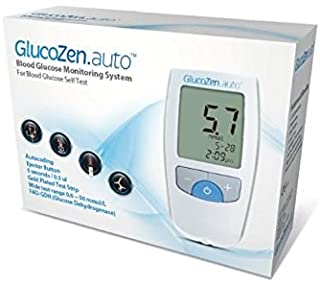 GlucoZen.auto BLOOD GLUCOSE MONITORING SYSTEM STARTER KIT *