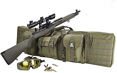LSWKG Funda Escopeta Caza,Funda para Carabinas Bolsa para Rifle Funda para Transporte...