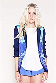 Finders Keepers - Remember A Day Jacket (FX130236J/PRT - Lake Tahoe Print Size S)
