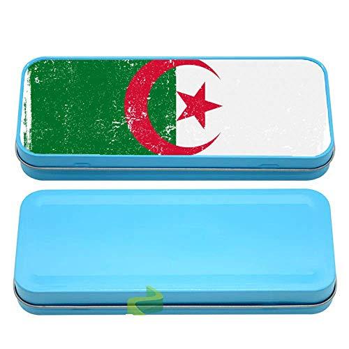 Générique Boite à Crayon Drapeau de l'algérie Vintage - Bleu