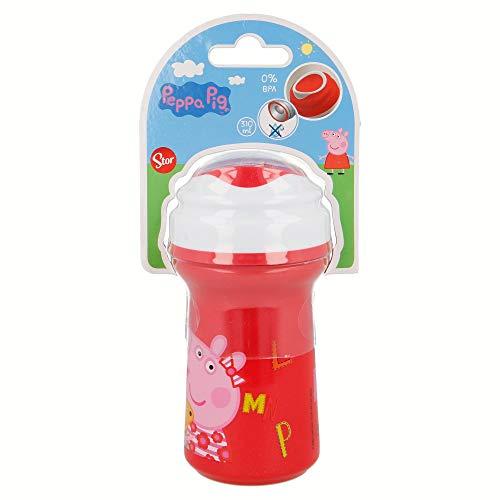 Peppa Pig st-89097 beker Toddler Premium met deksel 310 ml letter'