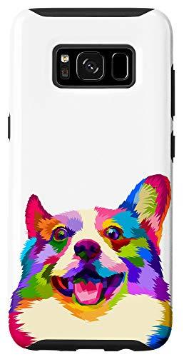 Galaxy S8 Corgi phone case Colorful Corgi Pop Art Style Case