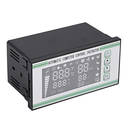 Popcornon Xm-18S Controlador de Incubadora de Huevos Termostato Higrostato Completo Control Automático