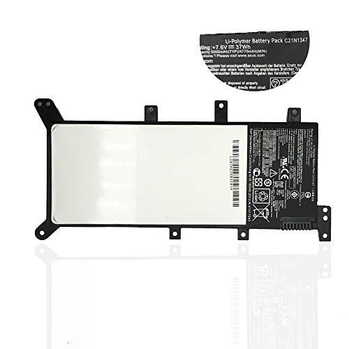 KDJ Batería de Repuesto C21N1347 para ASUS X555 X555L X555LA X555LB X555LD X555LF X555LI X555LJ X555LN X555LP Series (37Wh /7.6V )