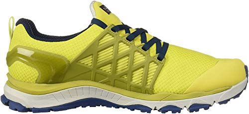 Jack Wolfskin Herren Trail Invader Shield Low M Walking-Schuh, Gelb Lime Blue 4171, 42 EU