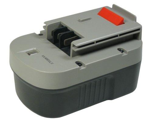 Hochleistungs Ni-MH Akku, 14,4V / 3000mAh ersetzt Black&Decker KC2002FK NM14 PS142K R143F2 Radio RD1440K RD1441K SX4000 SX5500 SXR14 SX6000 SX7000 SX7500 XTC143BK