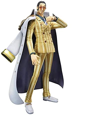 UanPlee-SC Personajes Anime One Piece Portrait of Pirates: Kizaru Borsalino PVC Figure Statue - High 10 2 Inches SP390QM