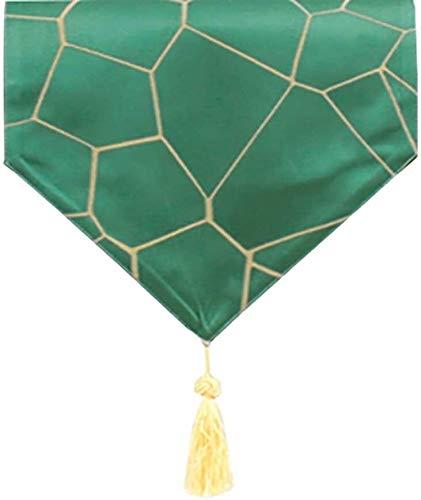 BECCYYLY Corredor de Mesa Moda Corredor de la Tabla de Tela, rectángulo té Tabla Mats, por Mesa de Comedor, decoración de la Boda, Mesa de café Manteles (Color : Style2, Size : 30×140cm)