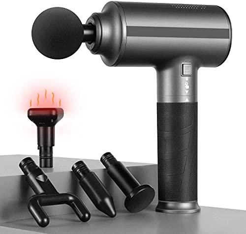 Pistola massaggiante per il corpo intero con funzione di calore, migliore rilassamento muscolare,...