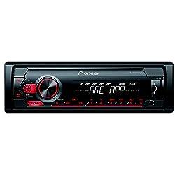 Pioneer MVH–S129UB Car Stereo (Black),Pioneer India Pvt Ltd,MVH-S129UB