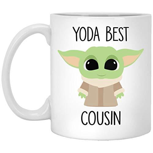 Yoda Best Cousin Mug Best Cousin Gift Gift For Cousin Cousin Birthday Gift Funny Cousin Mug Baby Yoda Mug 11oz