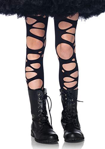 Leg Avenue Tattered Tights Modèle XL Noir